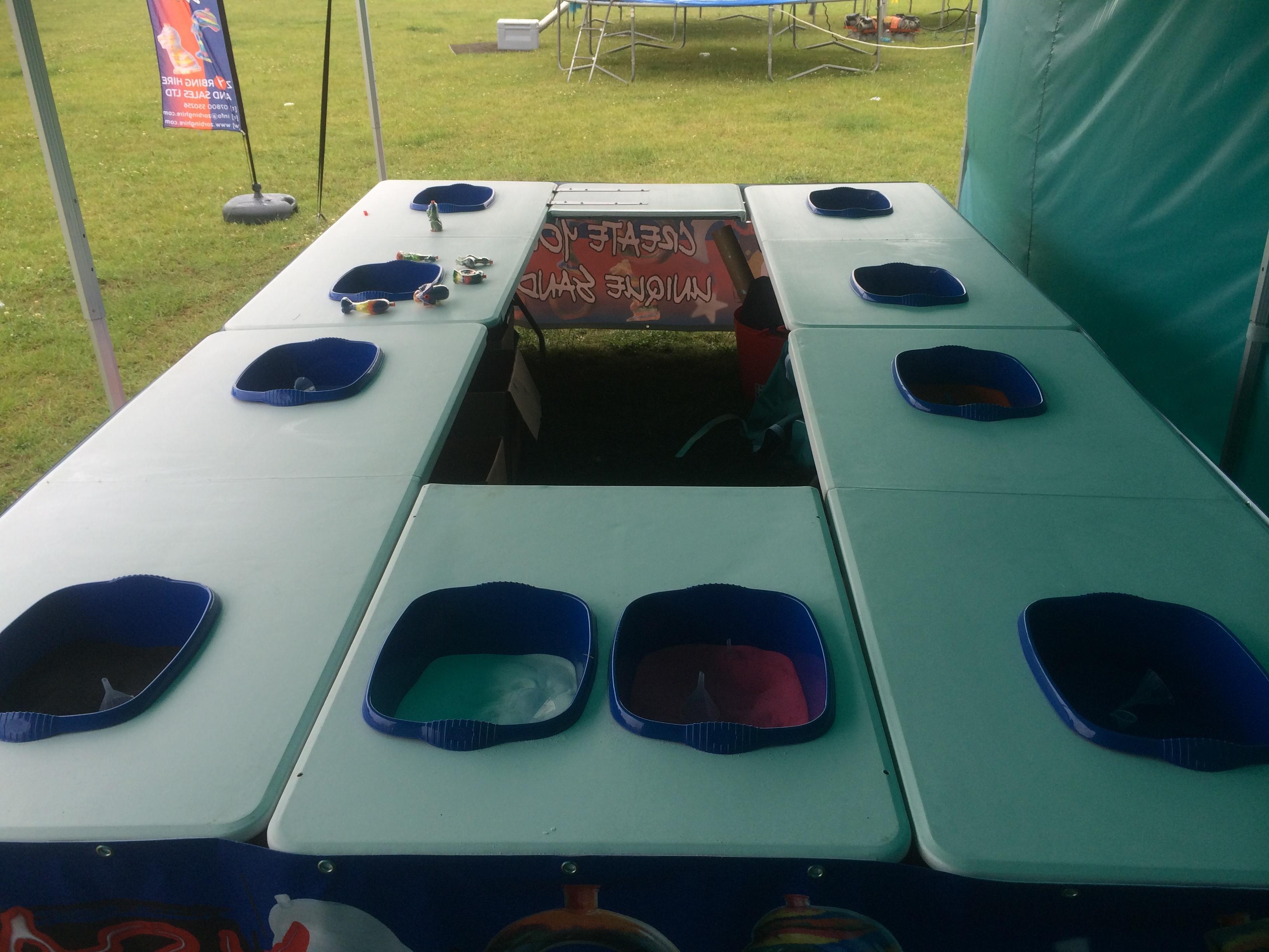 Sand Art Table For Kids