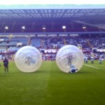 Taylor Zorbing Hire UK - Aston Villa Pitchside Web 2