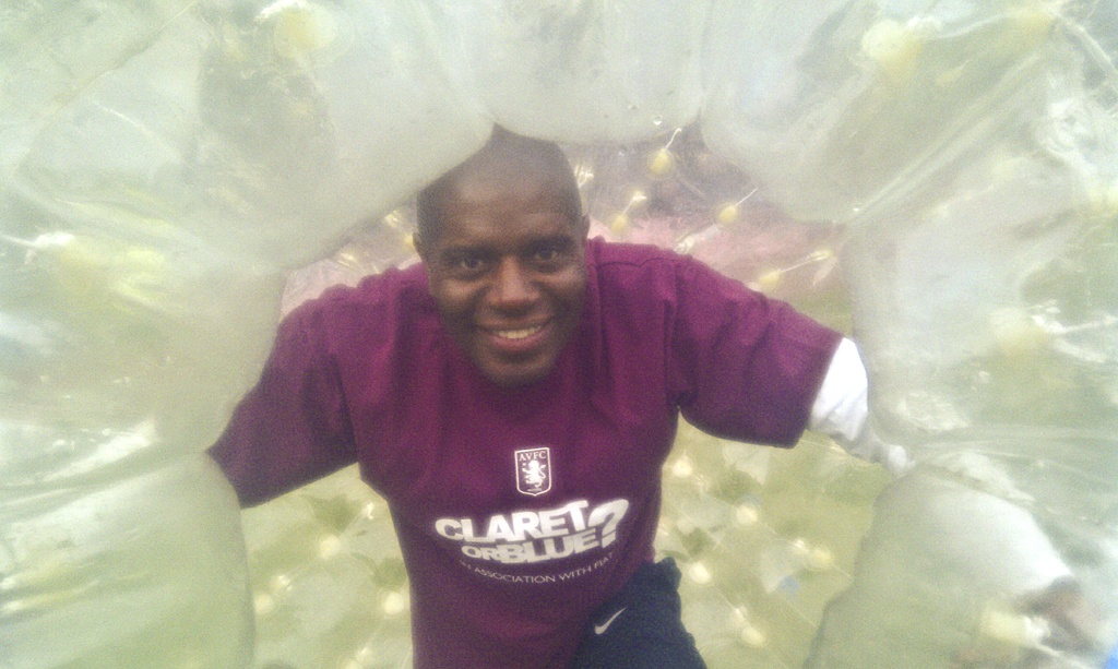 Taylor Zorbing Hire UK - Aston Villa