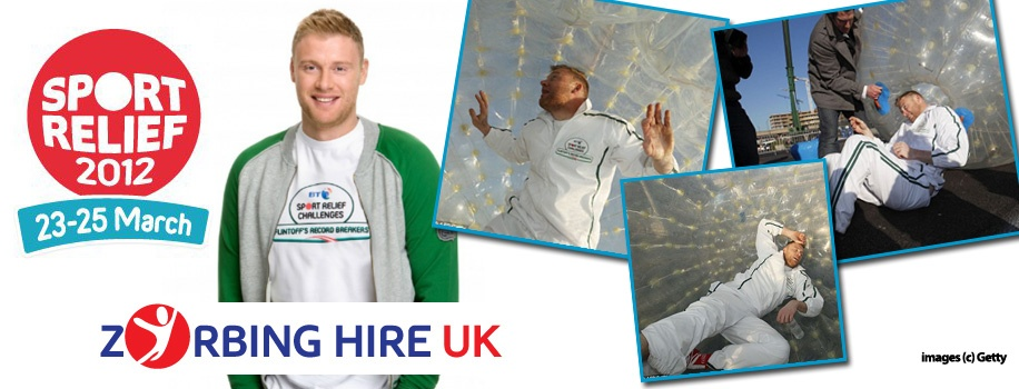 Zorbing Hire Sports Relief