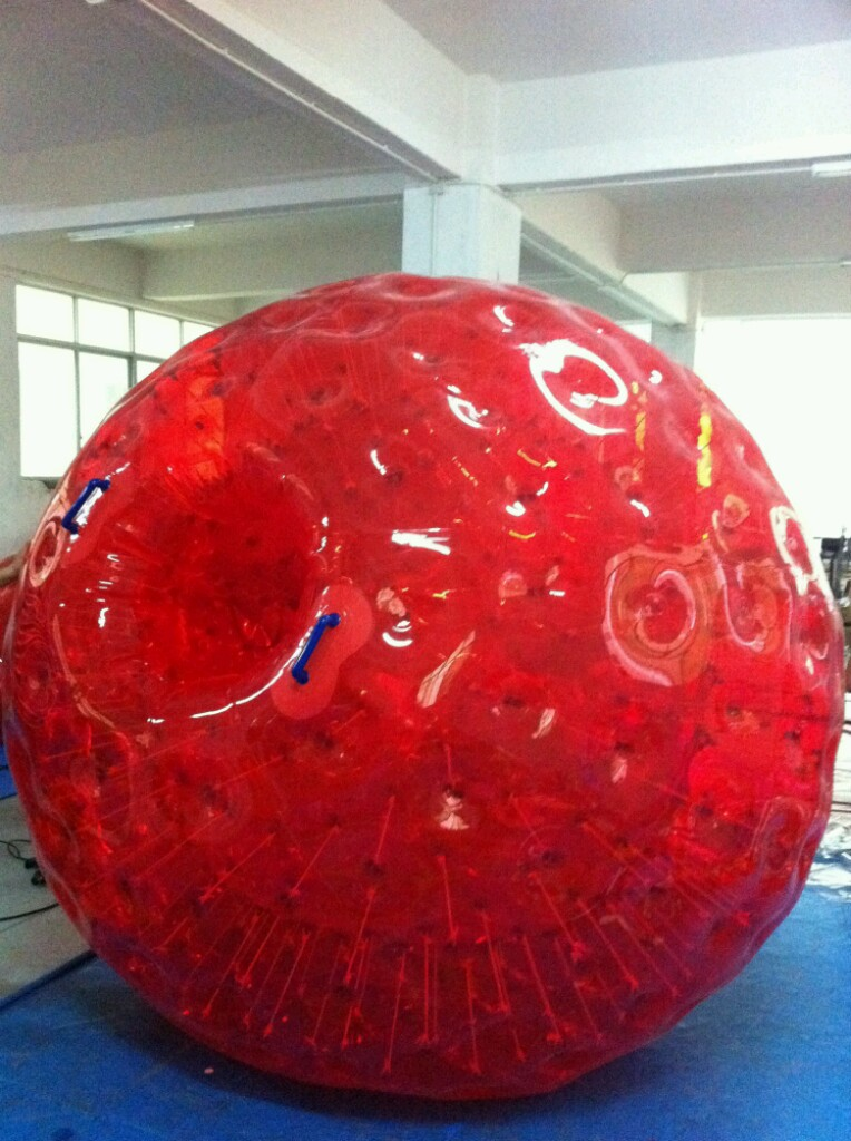 Zorb Racing Track And Zorb Balls