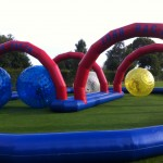 Zorb Race Track And Zorb Ball