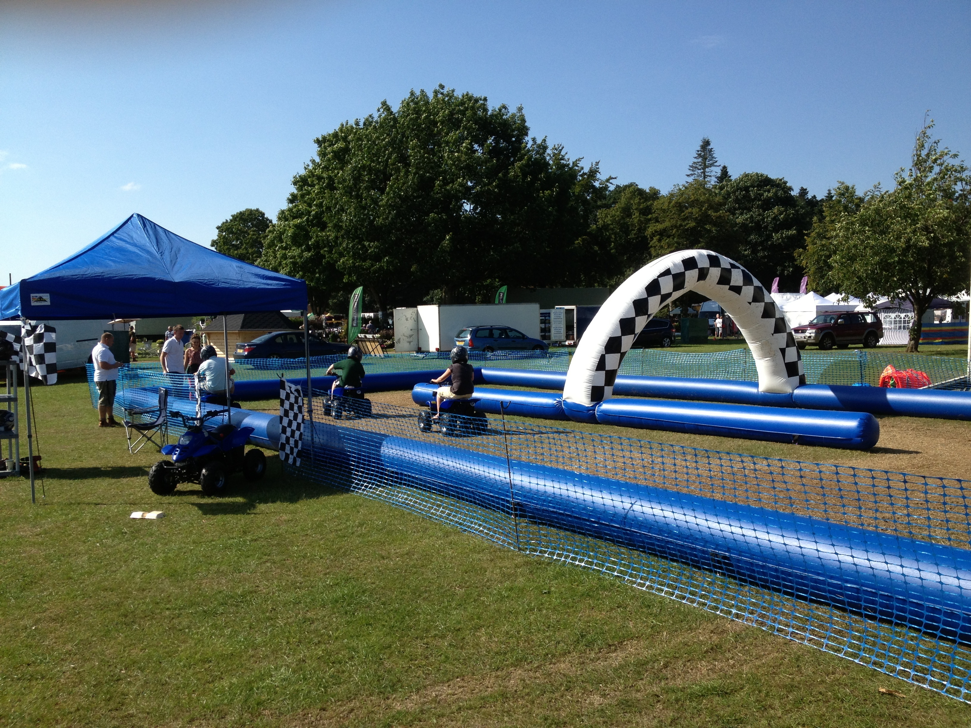 Quad Bike Inflatable Track