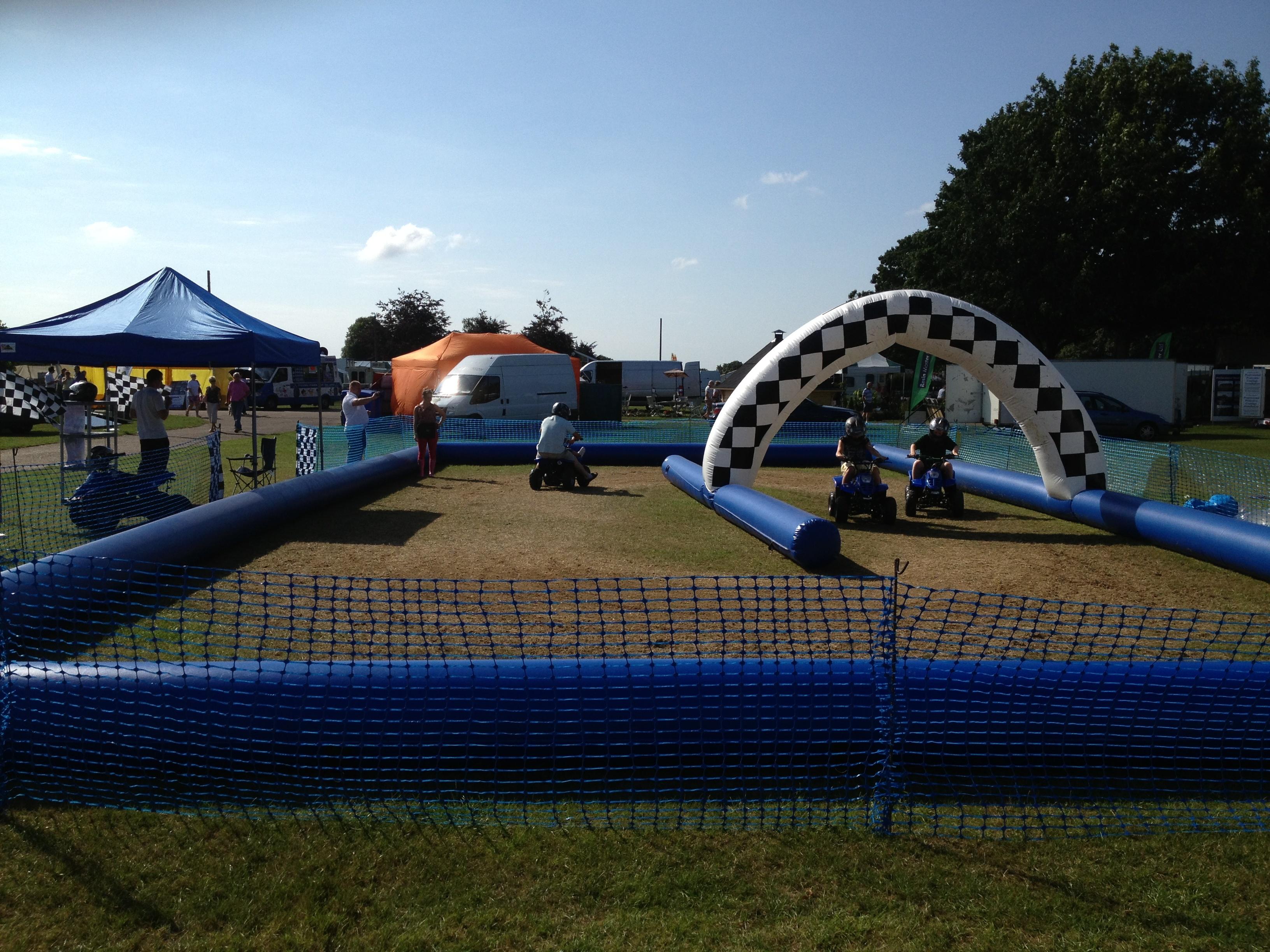 Inflatable Quad Biking Course