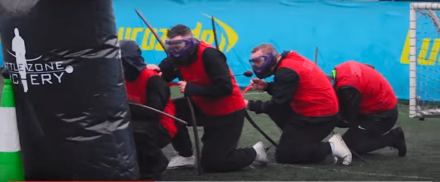 People Playing Archery Tag