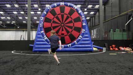 Foot Darts Leisure Activities