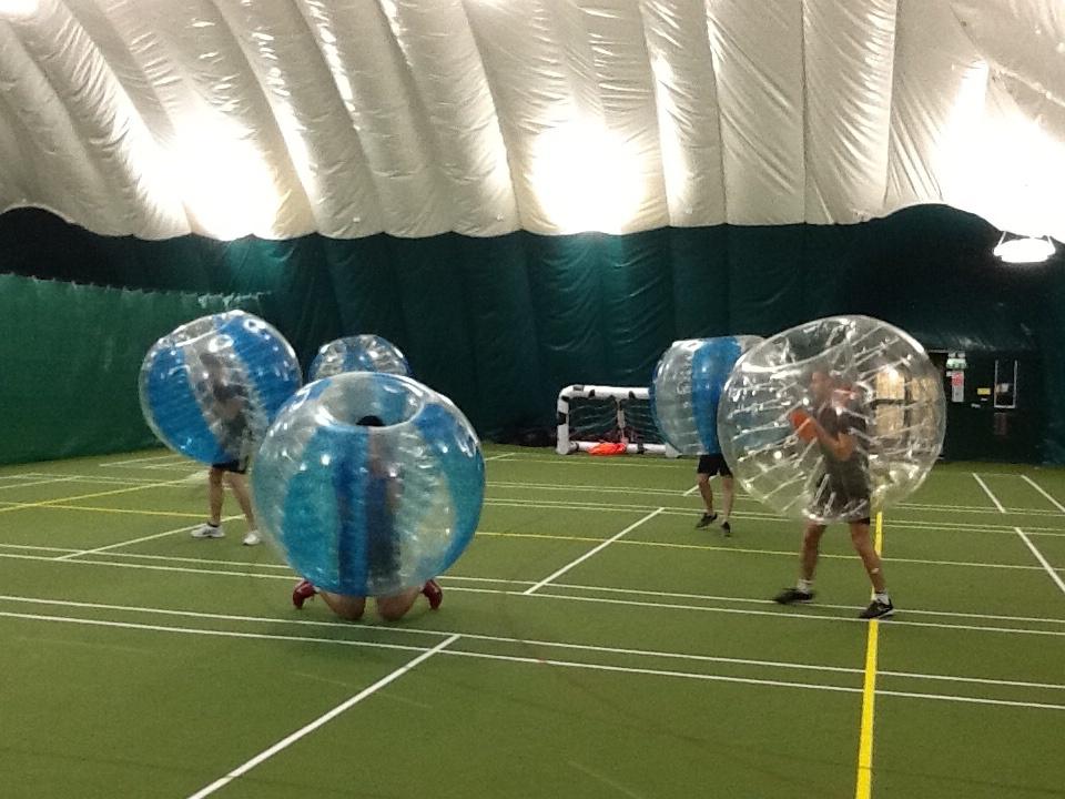 Bubble Football In Birmingham
