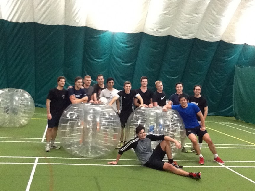 Bubble Football Team
