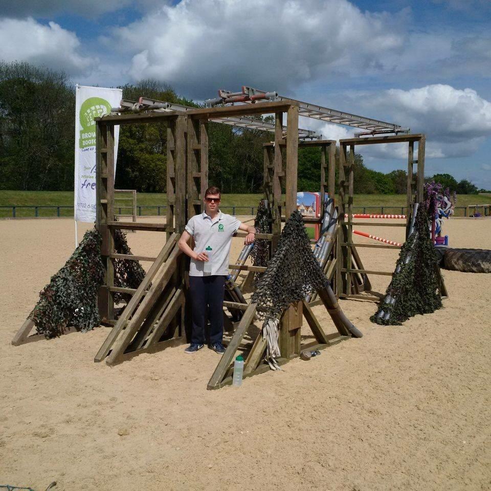 assault course team building leisure activity