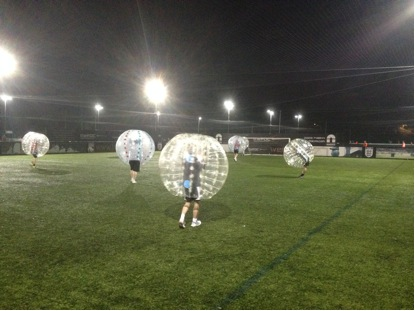 BUBBLE FOOTBALL - BODY ZORBING - ZORBING HIRE UK