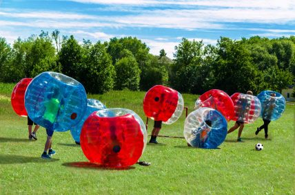 Zorb Party Childrens Parties