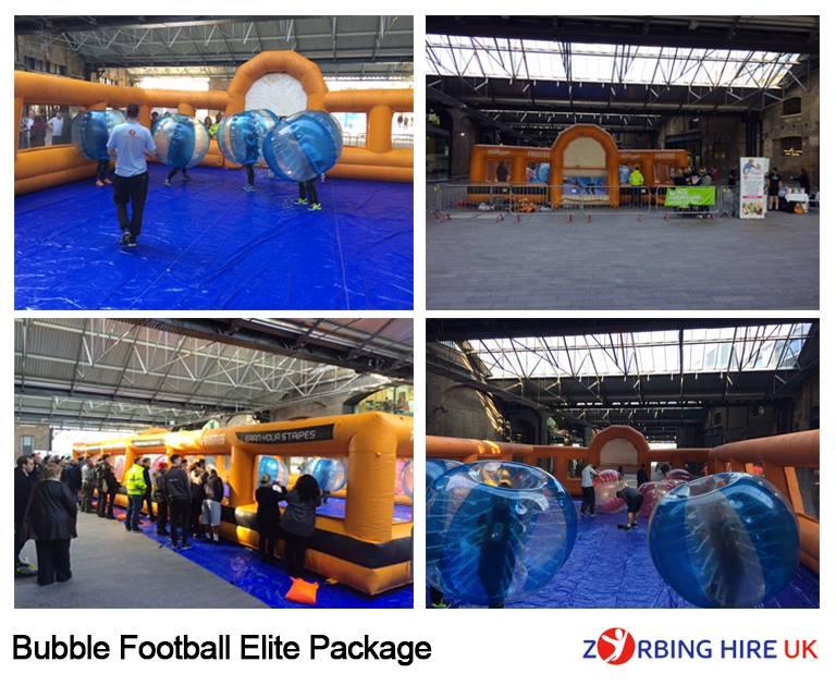 Indoor Bubble Football