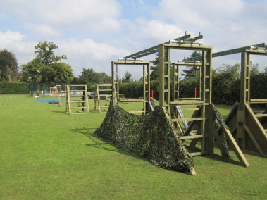army style assault course