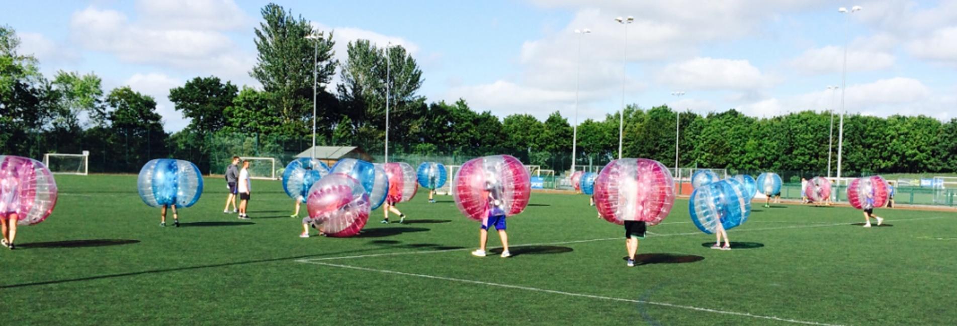 Bubble Football faq's leisure activities