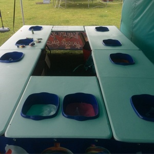 Crazy Sand Table