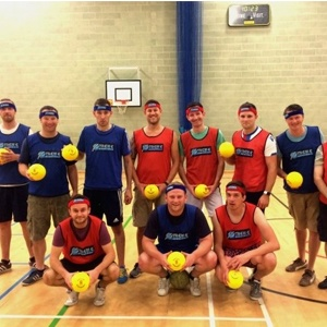 Dodgeball Team From Dodgeball Hire Event