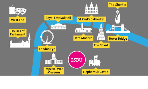 Map Of London Highlights