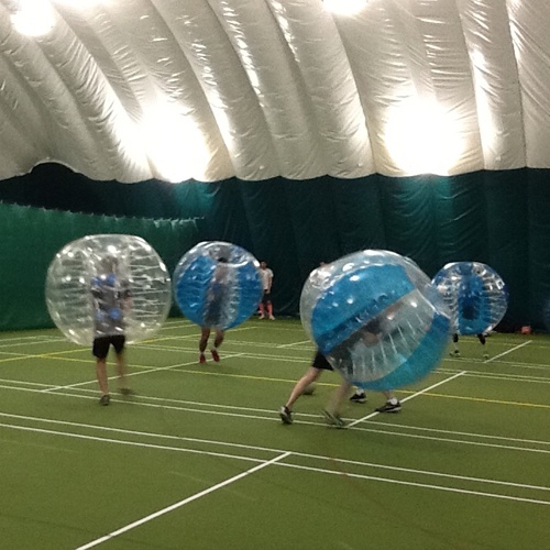 Bubble Footballing Football Zorbs
